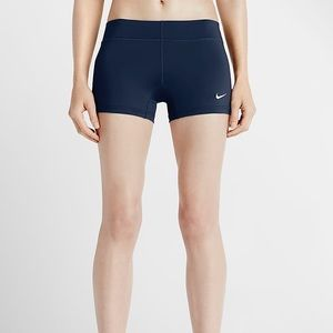 NIKE Blue Volleyball Booty Shorts Small